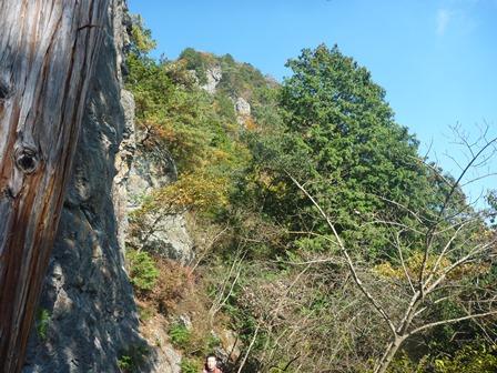 マラ岩から南稜ドーム