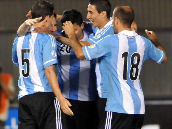 アルゼンチン代表20130910