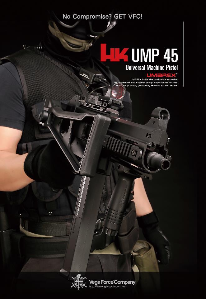 UMAREX/VFC H&K UMP GBB