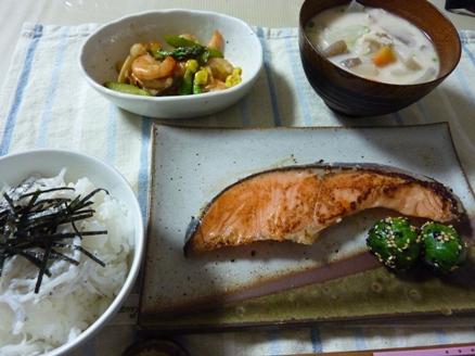 銀鮭の麹漬け