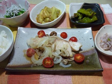 鱈の蒸し煮
