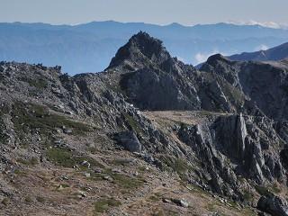 7 本岳から宝剣岳