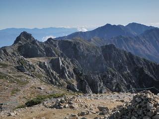 9 木曽山脈主稜線