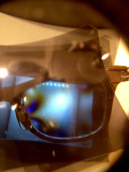 眼鏡 レンズの歪み