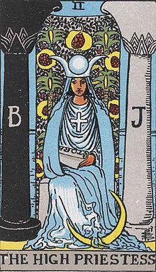ウェイト版タロット 女教皇