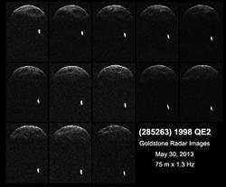 NASA提供1998qe2