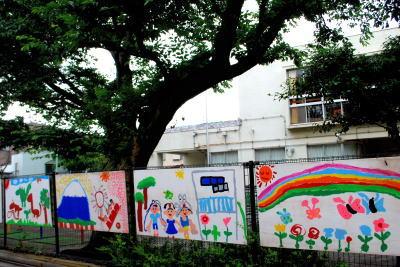 学校壁画1