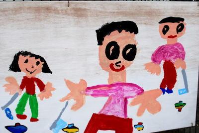 学校壁画2