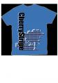 sakurastripeTシャツ