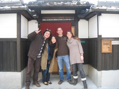 大阪阿倍野ゲストハウスおどりスイスからのお客様