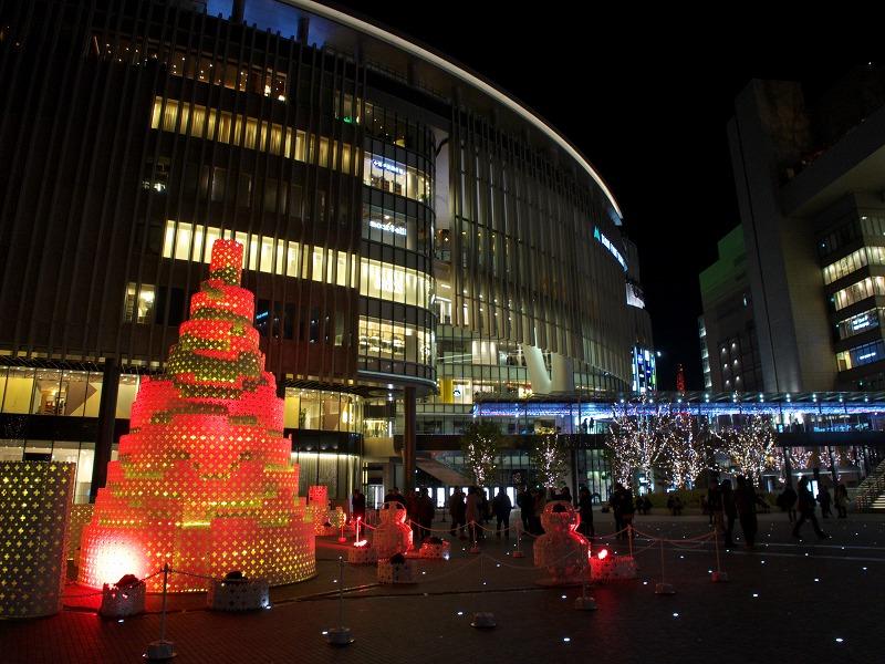 グランフロント大阪のイルミネーション2013
