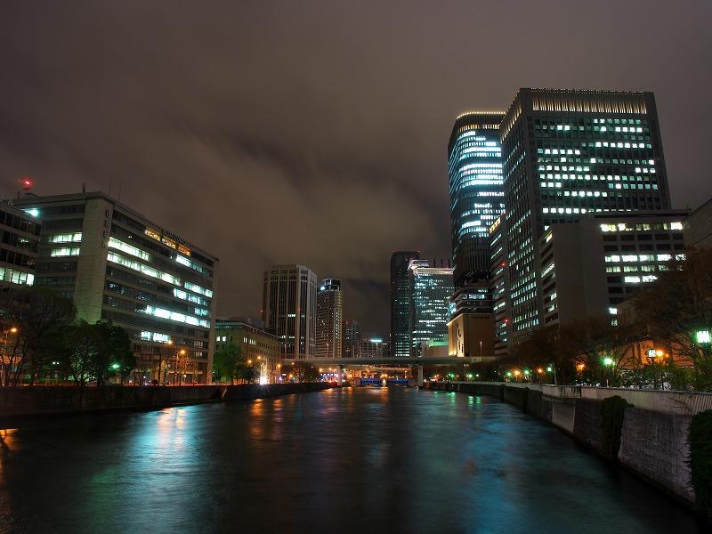 日本銀行大阪支店 夜景
