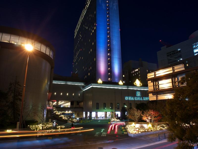 リーガロイヤルホテル クリスマスイルミネーション