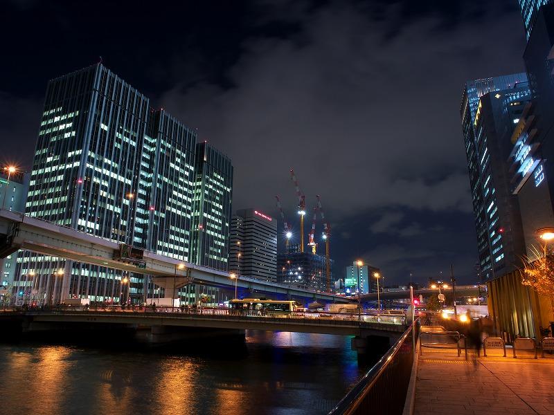 中之島三井ビル Osaka Buillumination 2013 ウインドウアート