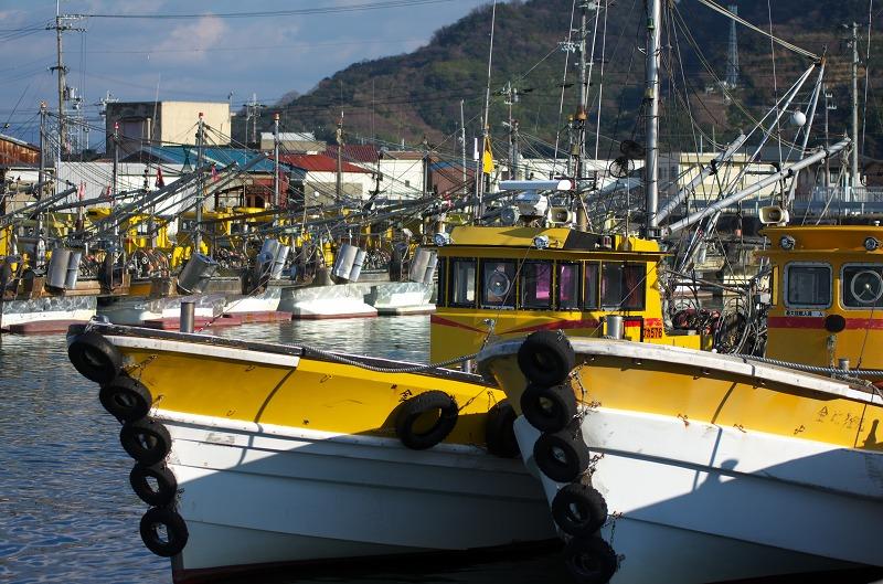 箕島漁港 たちうお 太刀魚 漁船