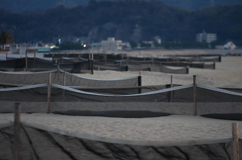 和歌公園 片男波ビーチ 砂浜 夕焼け