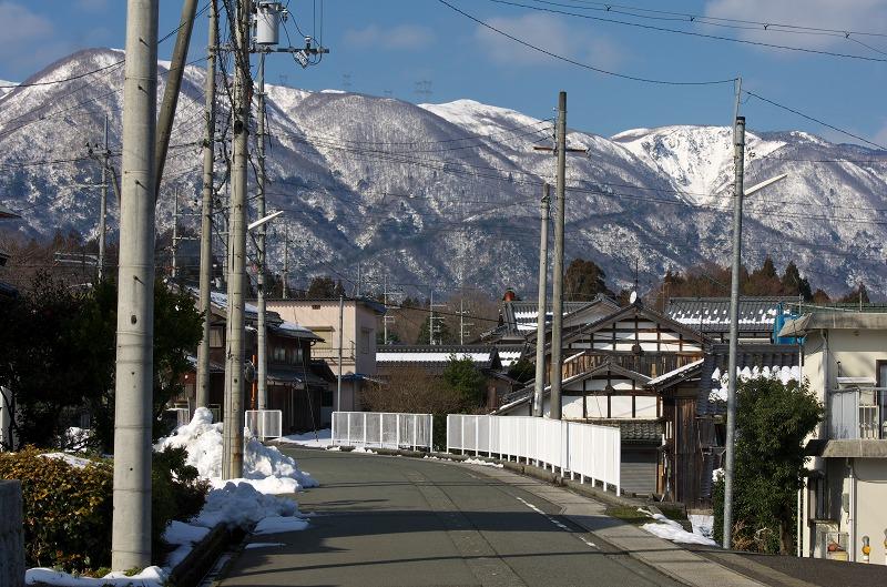 マキノ 雪山