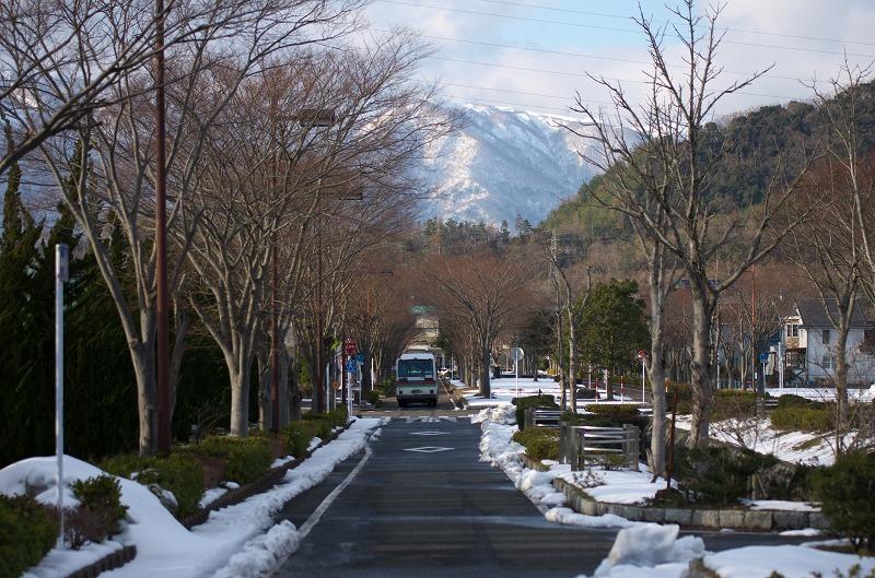 滋賀県 湖西線 マキノ駅 雪景色