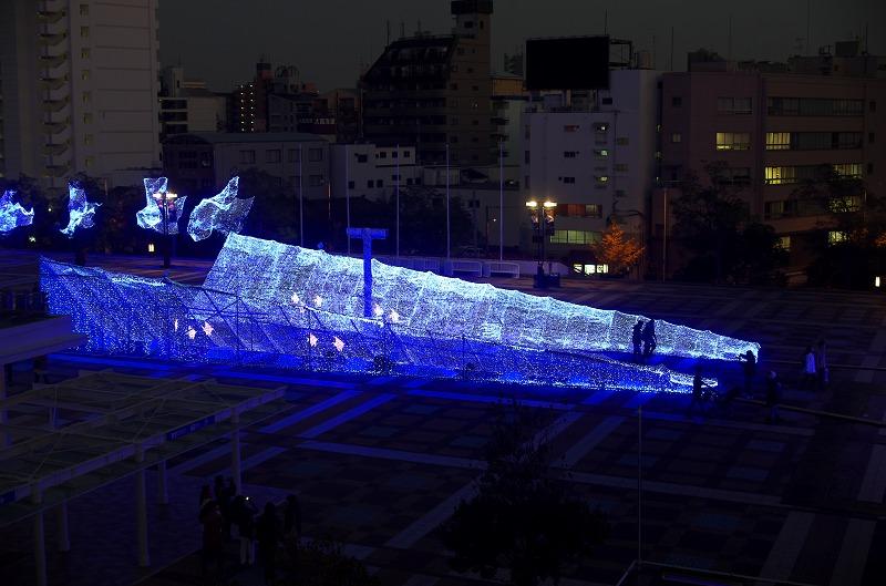 海遊館・ちきゅうたいかんイルミネーション!