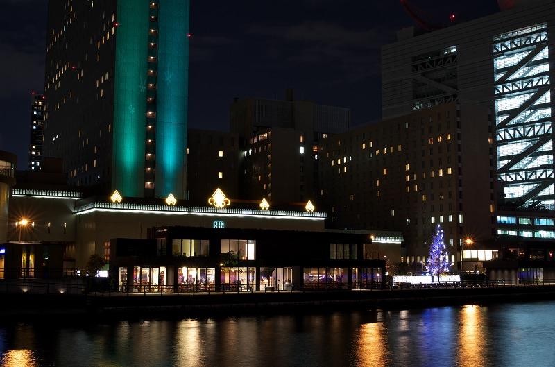 リーガロイヤルホテル クリスマスイルミネーション ライトアップ