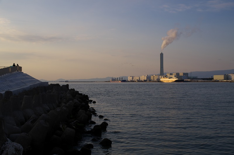 堺浜の海とのふれあい広場