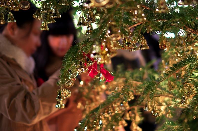 京都 北山ル・アンジェ教会 クリスマスイルミネーション