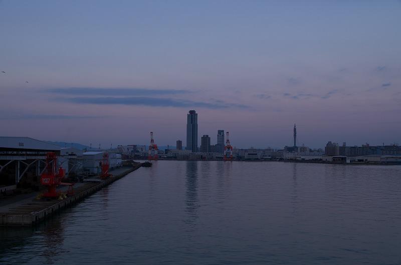 かもめ大橋の夕焼け