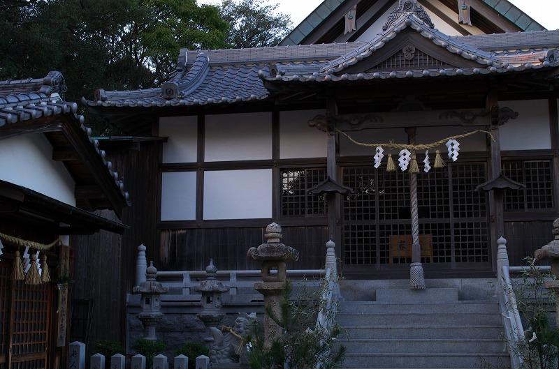 岬町の住吉神社は漁の守り神