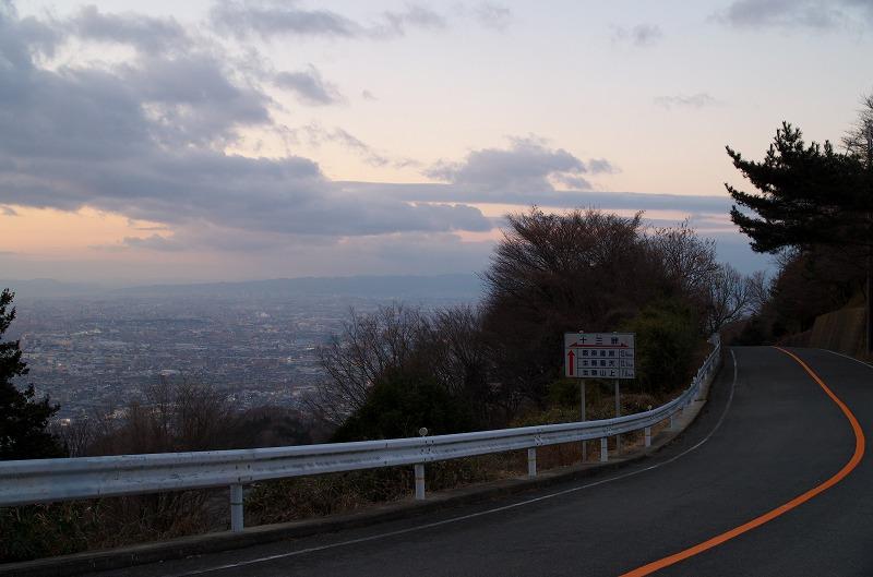 信貴生駒スカイライン 十三峠 眺め 景色