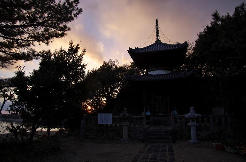和歌の浦 海禅院多宝塔