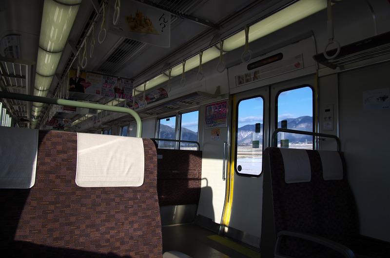滋賀県 湖西線 列車内 車窓