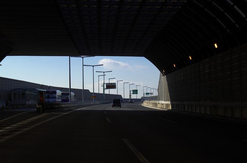 淡路島 明石海峡大橋 トンネル