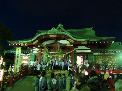 節分追儺祭(亀戸天神社)①