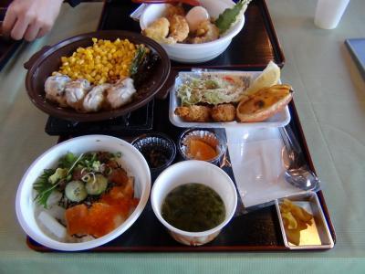 海鮮丼&カキフライ定食