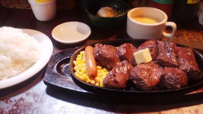 2,000円ステーキセット