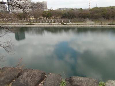 大阪城公園外堀(ラグビー場跡)