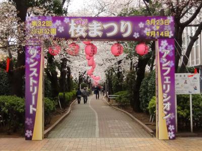亀戸緑道公園①