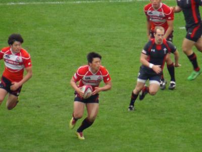 日本(赤)vsウェールズ