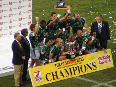 南アフリカ優勝!!