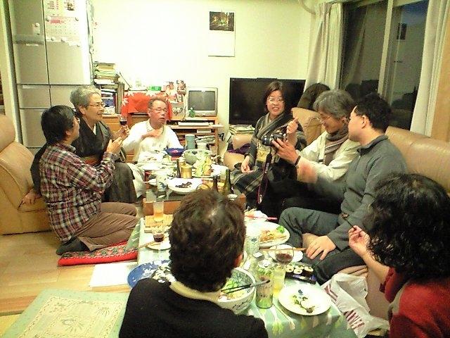 20101223上野宅宴会