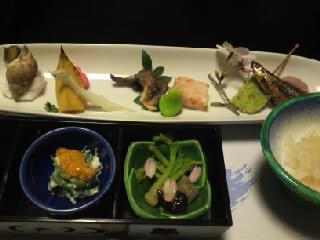 110416黒川温泉夕食