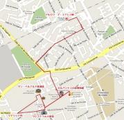 2010 Alcala de Henares Mapa