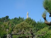 310 モタ城 キリスト像
