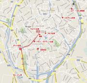 ブルージュ散策マップ 01