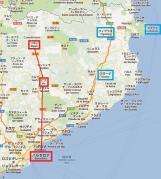 37996 Cercanias map