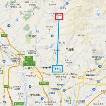 昇仙峡マップ01