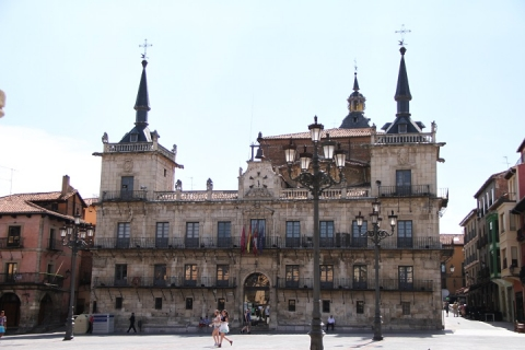 1355 antiguo consistrio de Leon