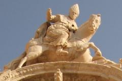 聖イシドロ騎馬像