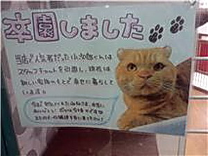 小次郎卒園