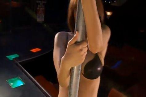 【松本さゆき】セクシー全開のポールダンスに挑戦